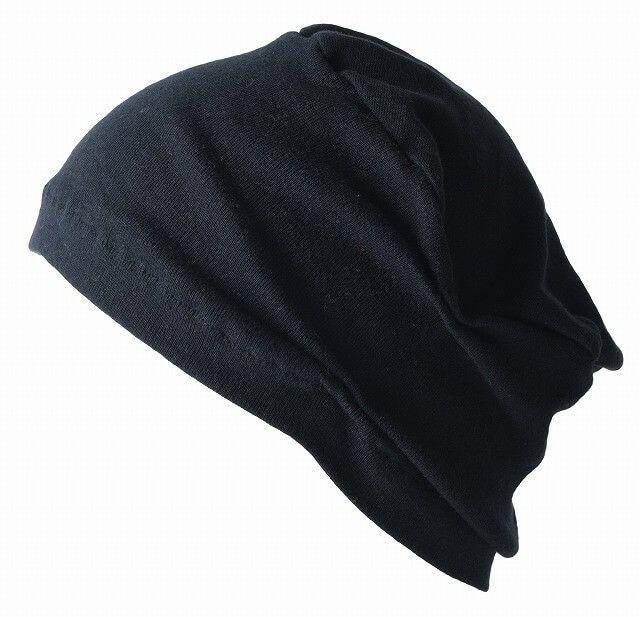 ブラックのオーガニックコットン 天竺 ペンテス デザインワッチ