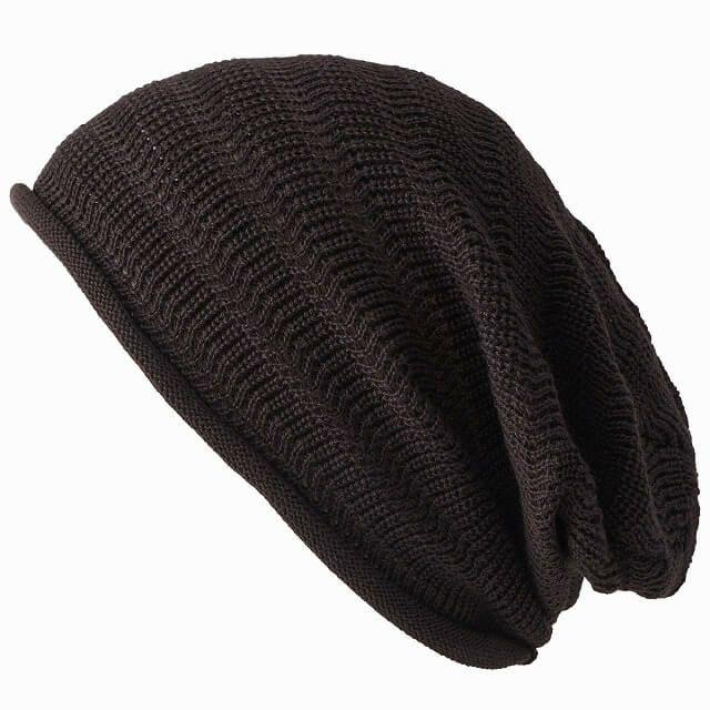 ブラウンの防臭+抗菌 dralon タック加工 メッシュ ルーズワッチ   ユニセックス ニット帽 オールシーズン
