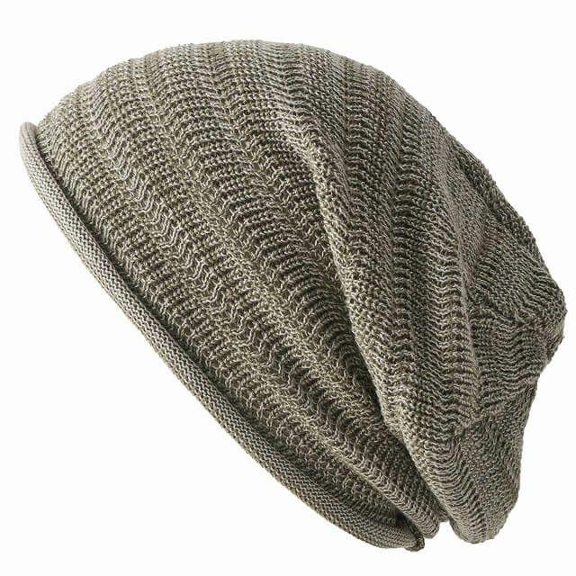 ミックス買い物防臭+抗菌 dralon タック加工 メッシュ ルーズワッチ   ユニセックス ニット帽 オールシーズン
