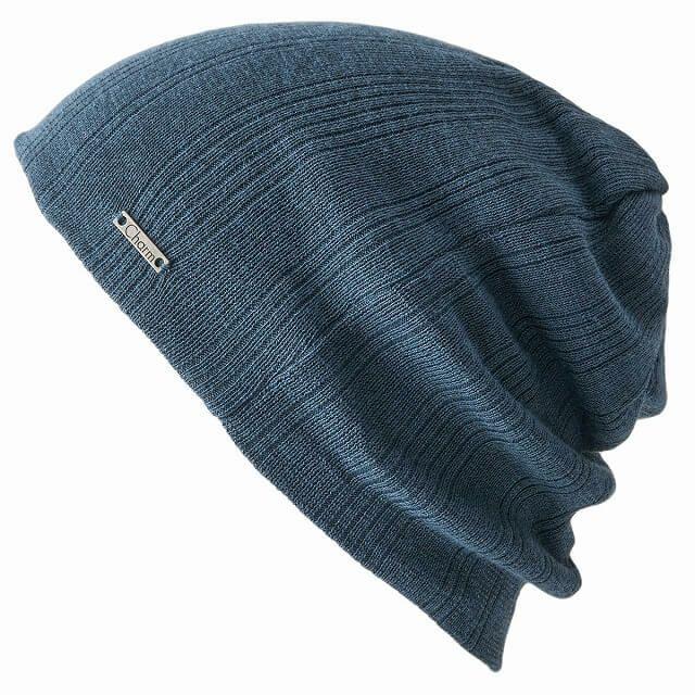 パープルのCOOLMAX リブワッチ | ユニセックス 日本製 ニット帽 スポーツ
