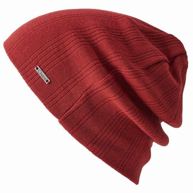 ライムグリーンのCOOLMAX リブワッチ | ユニセックス 日本製 ニット帽 スポーツ