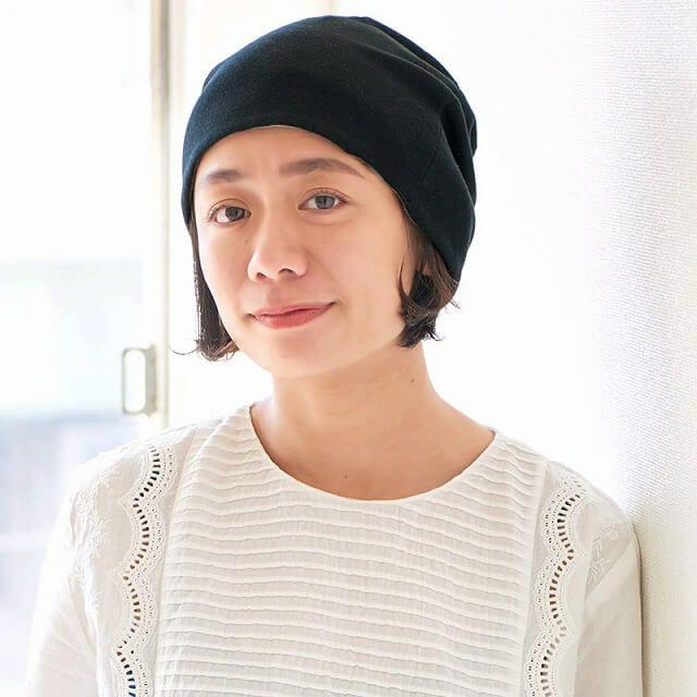 リバーシブル 天竺 オーガニックコットン ワッチ   ユニセックス 秋冬 医療用帽子 日本製