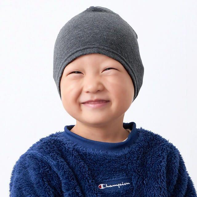 子供にも安心な日本製のオーガニックコットンを使用。