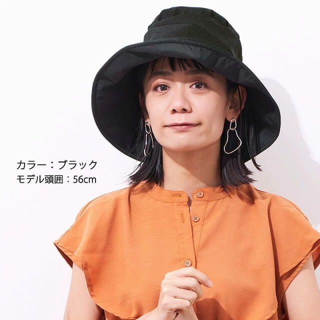 全3色展開。LEA(レア) ライト リボン ハット。つば広ハット、レディース、UVカット。