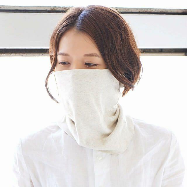 綿素材なので、発汗吸収性、保湿性も抜群。