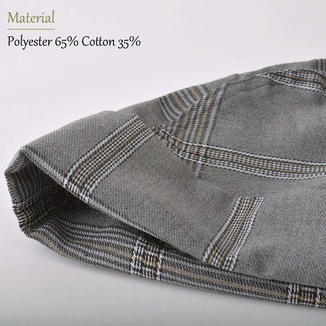 ロング バンダナ ワッチ キャップ (パターン)   ユニセックス コットン ペイズリー 医療用 三角巾