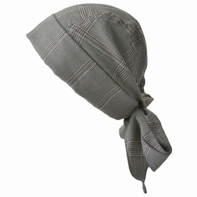 カラフルのロング バンダナ ワッチ キャップ (パターン)   ユニセックス コットン ペイズリー 医療用 三角巾
