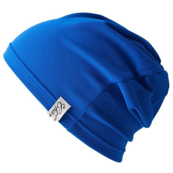 ブルーの吸汗 速乾 UVカット ビーニー ワッチ