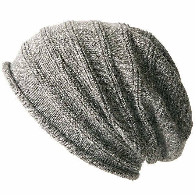 グレーの綿 シルク シルエット ワッチ