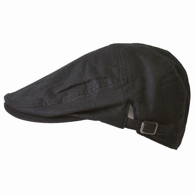 メイビー リネン ハンチング | メンズ レディース 春夏 麻100% 帽子 モナコハンチング ゴルフ 紫外線対策 日よけ帽子 おしゃれ シニア