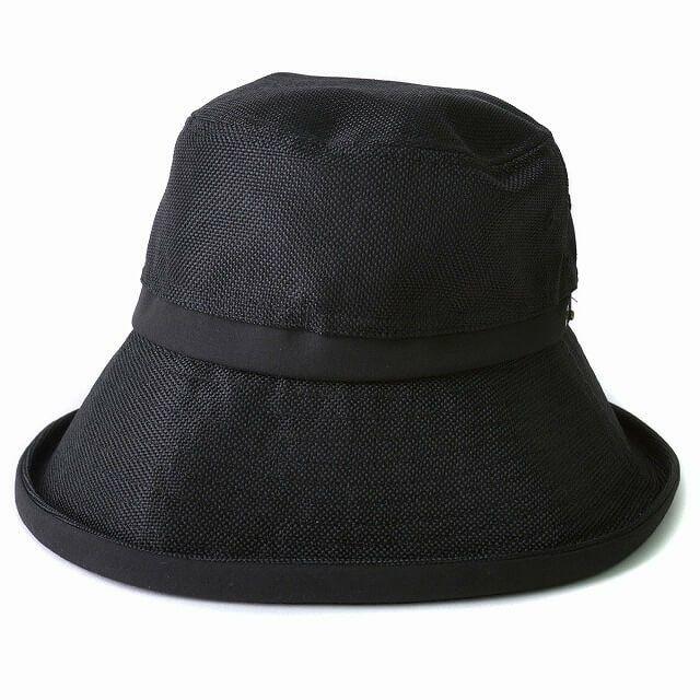 ブラックのジャズ シンプルデザイン ハット