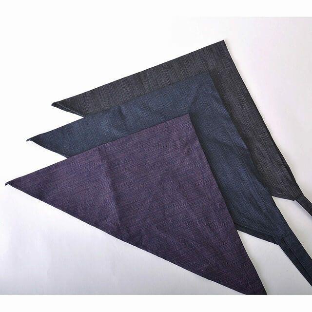 木綿 バンダナ 三角巾